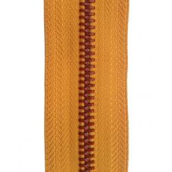 5# Metal  Zipper Red Crystal  lacquer ,C/E,A/L