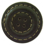 Leather button