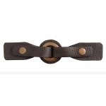 Leather buckle